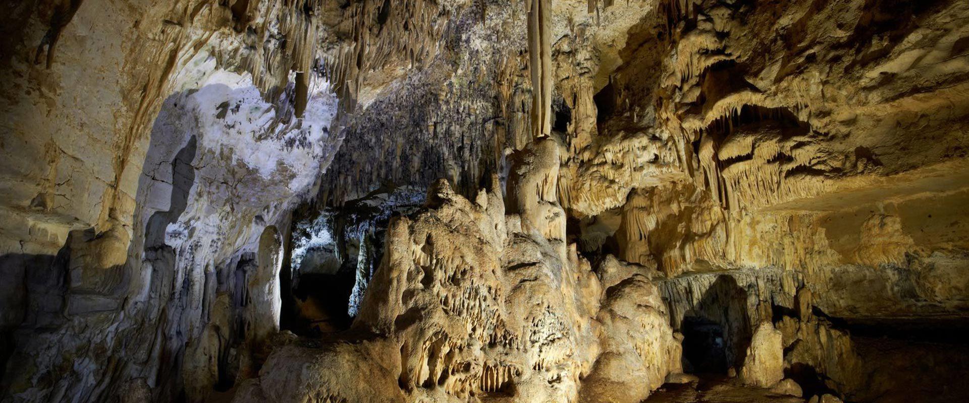 Grottes d'Arcy sur Cure (à 19 km de Vézelay)