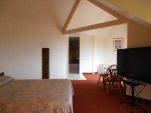 Chambre triple avec balcon